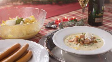 Weihnachtliche Restlesküche - Nix bleibt übrig